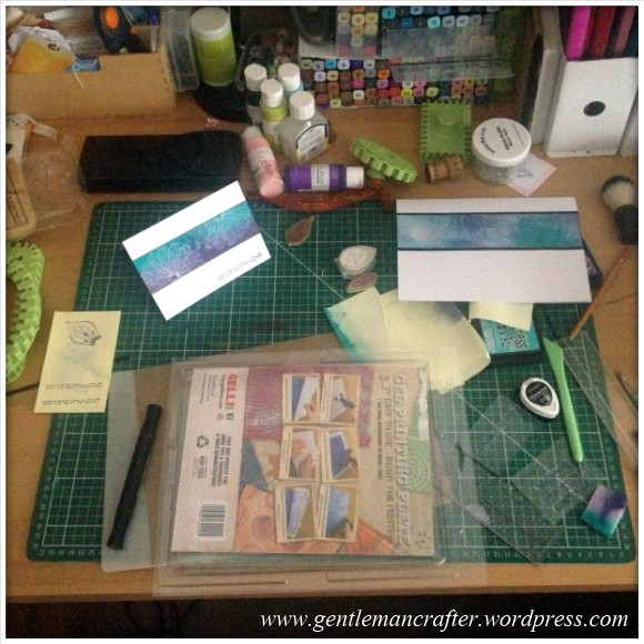 Unfinished Objects - 2 - Cardmaking