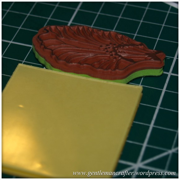 Using Unmounted Stamps With The Inkadinkado Stamping Gear - Depth Check 3
