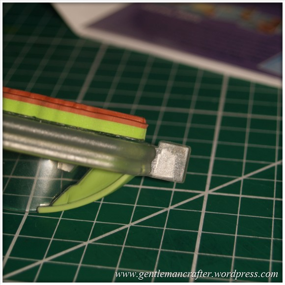 Using Unmounted Stamps With The Inkadinkado Stamping Gear - Depth Check
