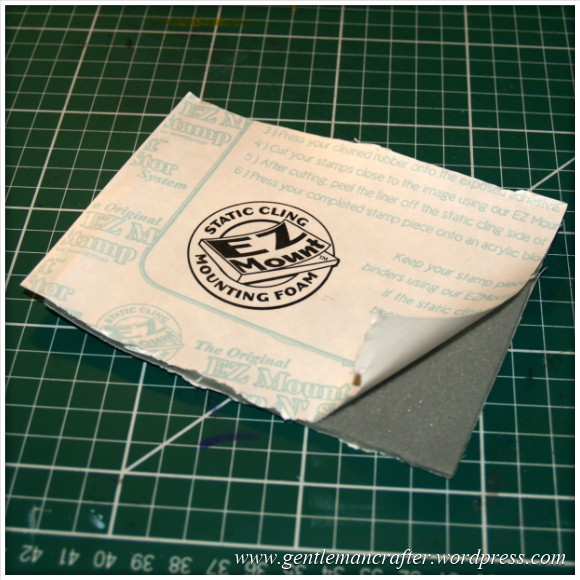 Using Unmounted Stamps With The Inkadinkado Stamping Gear - EZ Mount