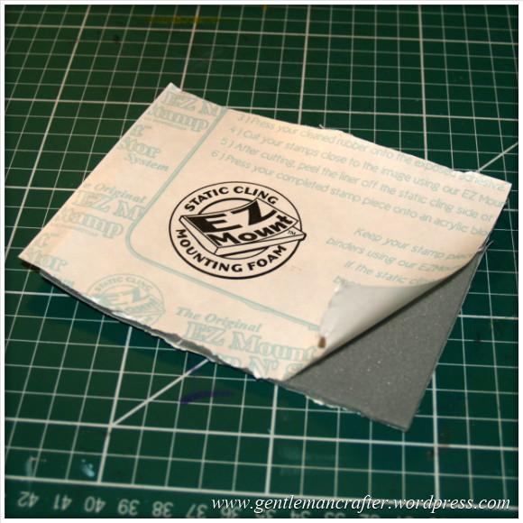 Using Unmounted Stamps With The Inkadinkado Stamping Gear - EZ Mount