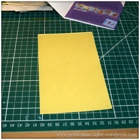Using Unmounted Stamps With The Inkadinkado Stamping Gear - Tack n Peel 2