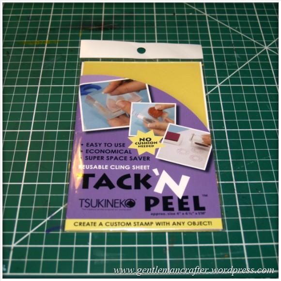 Using Unmounted Stamps With The Inkadinkado Stamping Gear - Tack n Peel