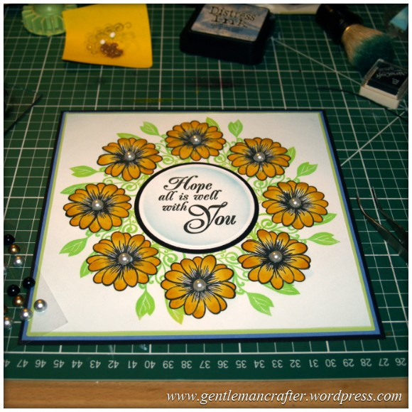 Alls Well That Ends Well - An Inkadinkado Stamping Gear - Finishing Touches