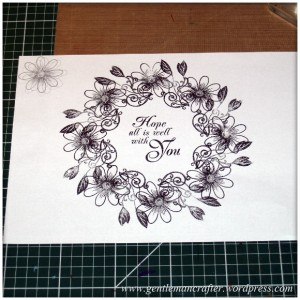 Alls Well That Ends Well - An Inkadinkado Stamping Gear Card - Inkadinkadoodle