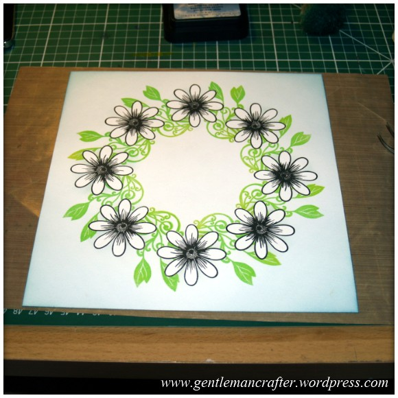 Alls Well That Ends Well - An Inkadinkado Stamping Gear - Remove The Masks