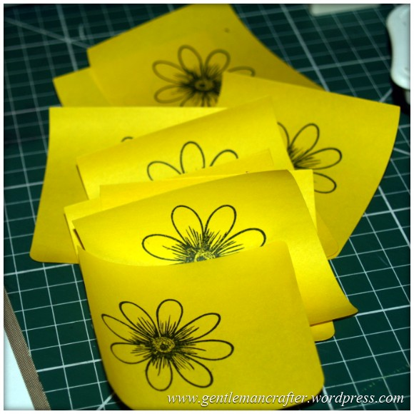 Alls Well That Ends Well - An Inkadinkado Stamping Gear Card - Stamping The Masks