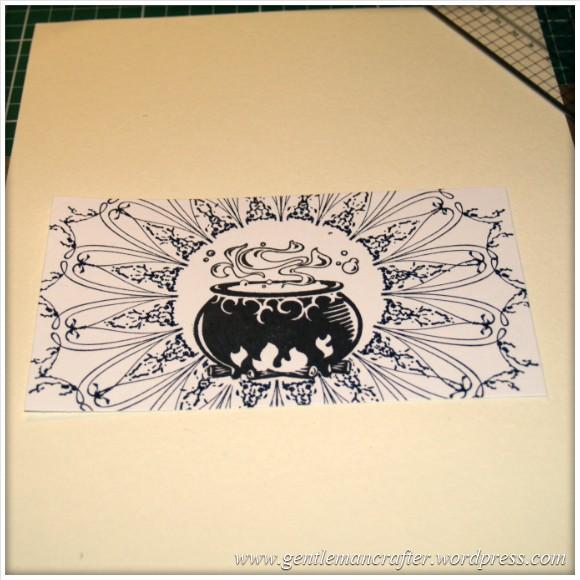 Happy Halloween - An Inkadinkado Stamping Gear Project - 3
