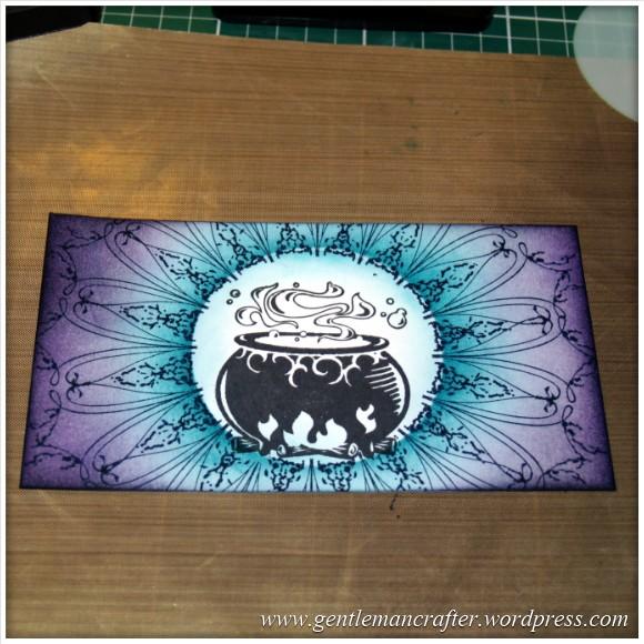 Happy Halloween - An Inkadinkado Stamping Gear Project - 6