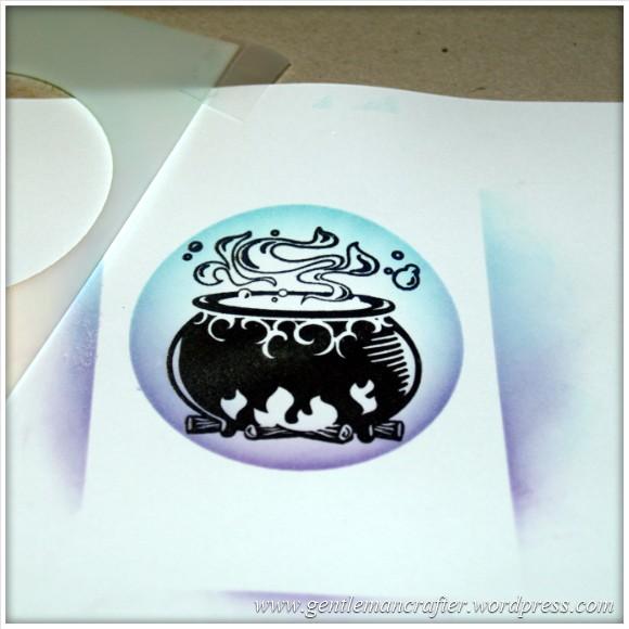 Happy Halloween - An Inkadinkado Stamping Gear Project - 7