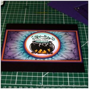 Happy Halloween - An Inkadinkado Stamping Gear Project - 8