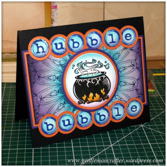Happy Halloween - An Inkadinkado Stamping Gear Project - Featured Image