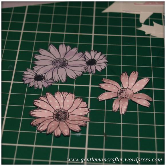 Inkadinka-Doily Card - An Inkadinkado Card - Creating The Flowers 2