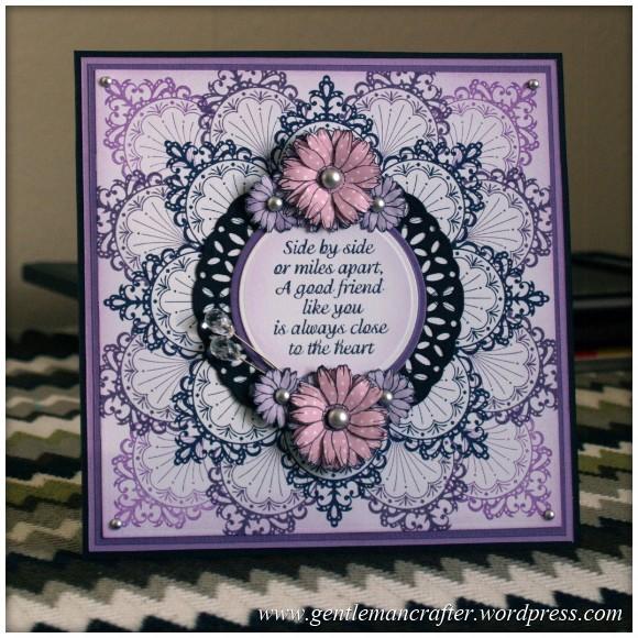 Inkadinka-Doily Card - An Inkadinkado Card - Featured Image