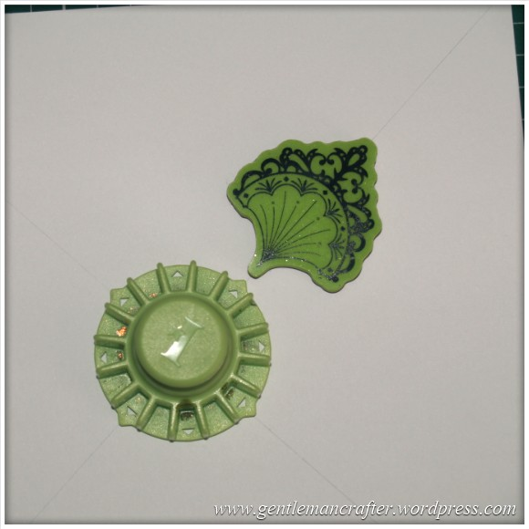Inkadinka-Doily Card - An Inkadinkado Card - Stamp Placement