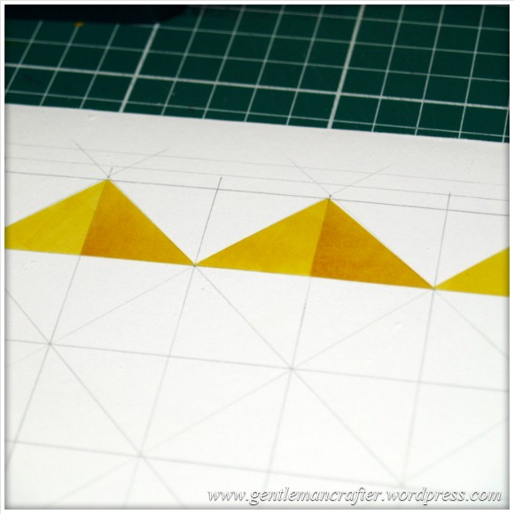 Abstract Pattern With Tim Holtz Distress Inkpads - Starting Steps 2