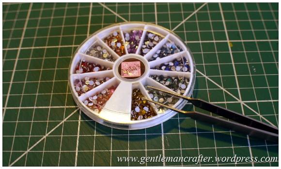 A Reason To Celebrate - A Card Using Inkadinkado Gemstone Alphabet Stamps (1)