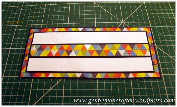 A Reason To Celebrate - A Card Using Inkadinkado Gemstone Alphabet Stamps - Step  (4)