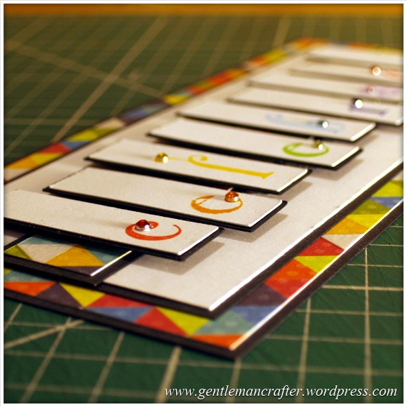 A Reason To Celebrate - A Card Using Inkadinkado Gemstone Alphabet Stamps - Step  (5)