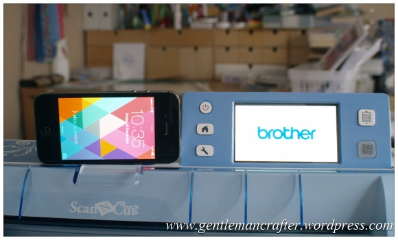 Brother Scan n Cut Coming Soon - Screen Size Comparison
