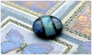 Making Microwave Fused Glass Cabochons - Cabochon 3