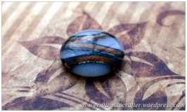 Making Microwave Fused Glass Cabochons - Cabochon 5
