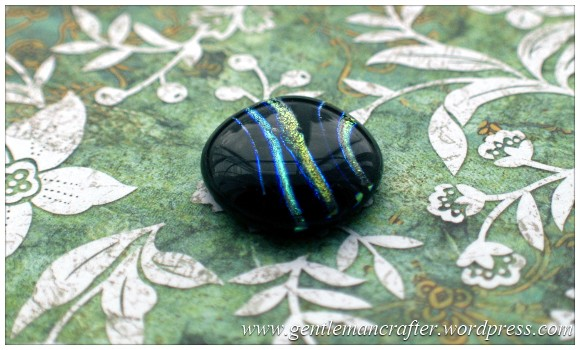 Making Microwave Fused Glass Cabochons - Cabochon 7