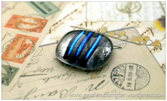Making Microwave Fused Glass Cabochons - Cabochon 8