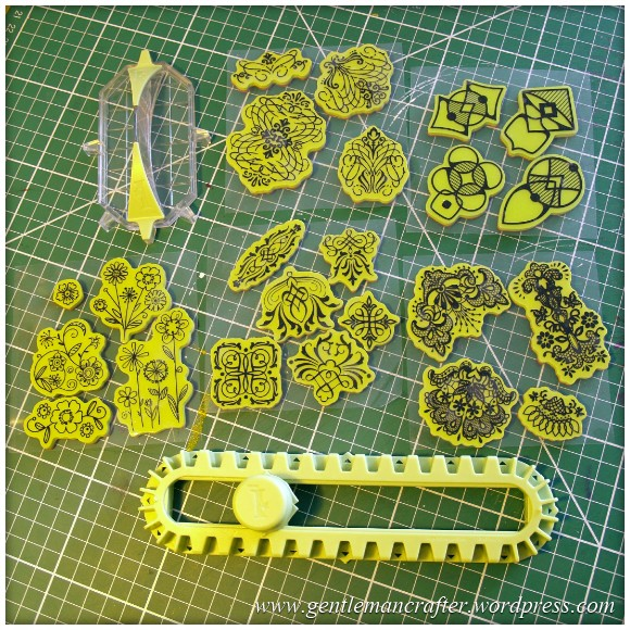 Inkadinkado Stamping Gear Returns - Stamping Gear Bar