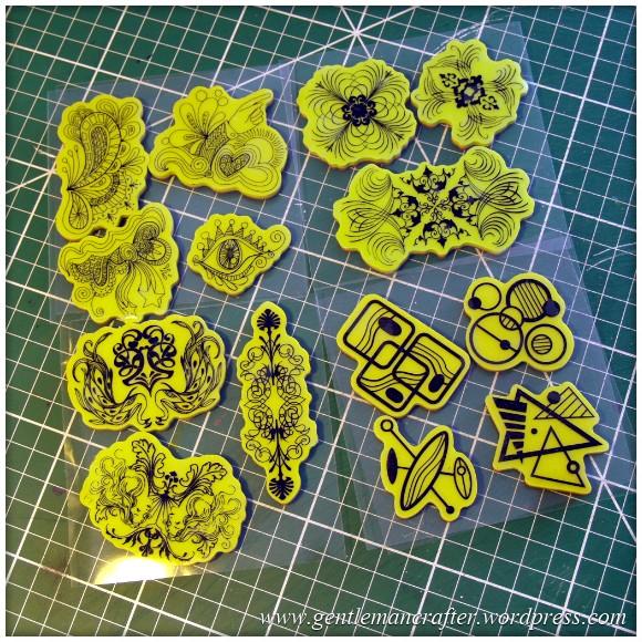 Inkadinkado Stamping Gear Returns - Stamps 5