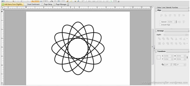 Creating A Geometric Pattern In Serif Craft Artist - 10