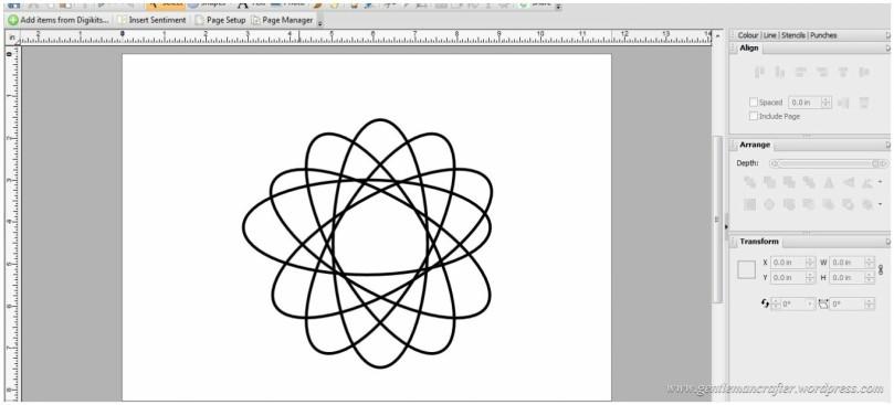 Creating A Geometric Pattern In Serif Craft Artist - 8