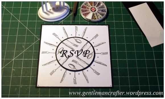 Monday Mojo - Magazine Inspirations - Invitation Cards - Adding The Gemstones