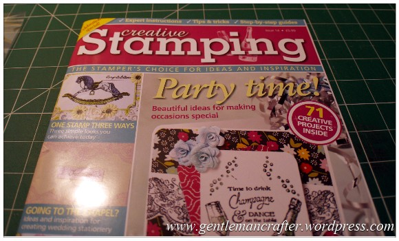 Monday Mojo - Magazine Inspirations - Invitation Cards - Creative Stamping Issue 14
