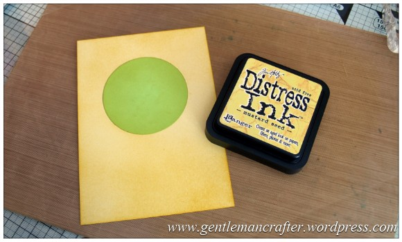 The Key To Happiness Rubber Stamped Card - 4