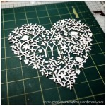 Mothers Day Paper Cutting Project 5