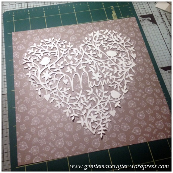 Mothers Day Paper Cutting Project 6