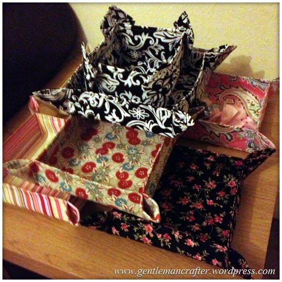 Fabric Friday 1 - Fabric Bowl 1