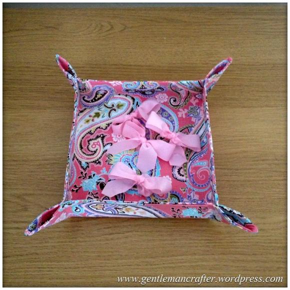 Fabric Friday 1 - Fabric Bowl 2