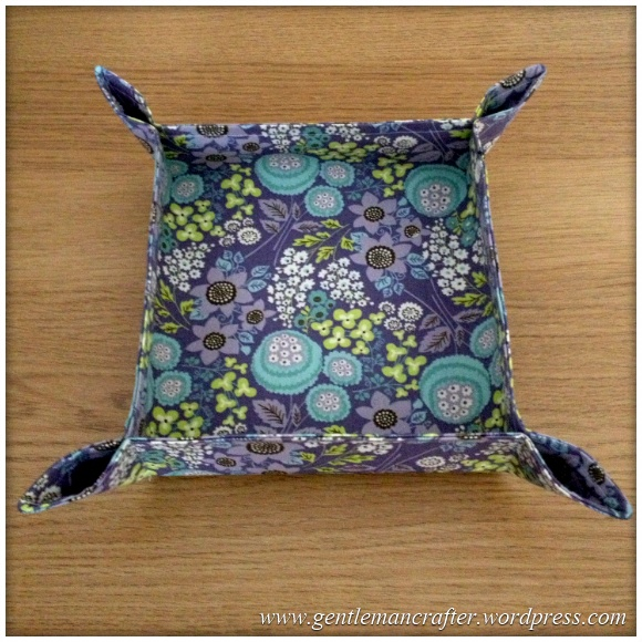 Fabric Friday 1 - Fabric Bowl 3