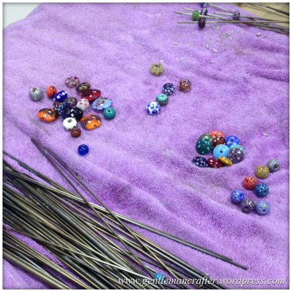 Glass Bead Making With Helen Chalmers - Cleaning The Beads