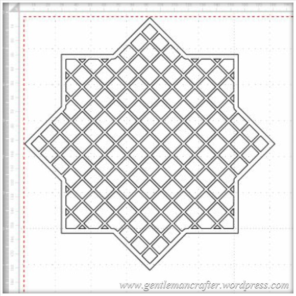 lattice star frame 1