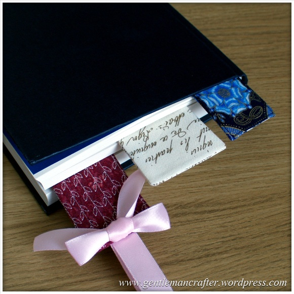 Fabric Friday - Easy To Make Bookmarks - 1