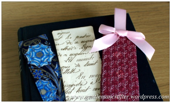 Fabric Friday - Easy To Make Bookmarks - 2