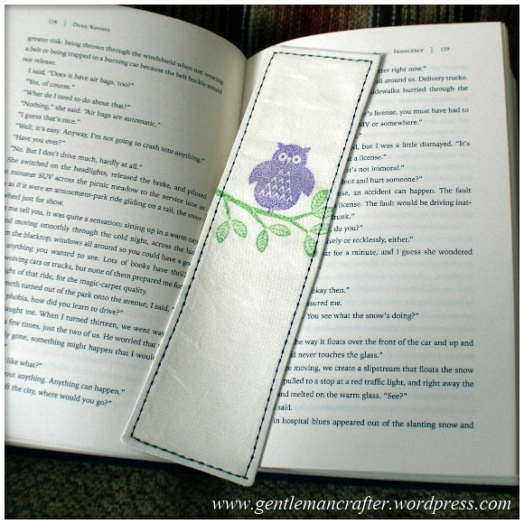 Fabric Friday - Easy To Make Bookmarks - 3