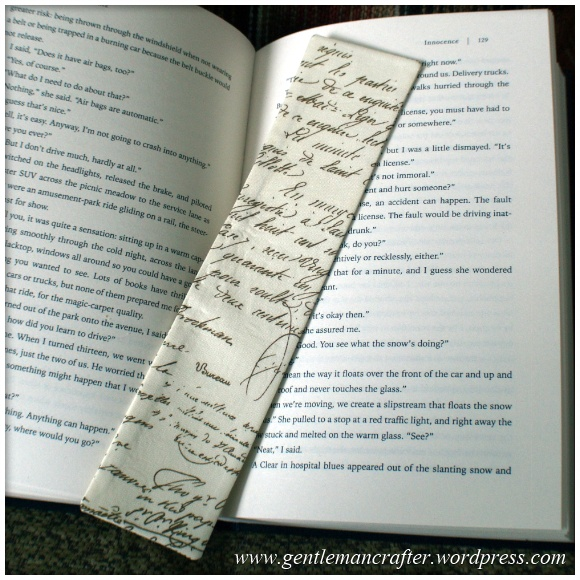 Fabric Friday - Easy To Make Bookmarks - 4