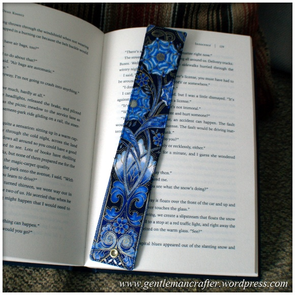 Fabric Friday - Easy To Make Bookmarks - 6