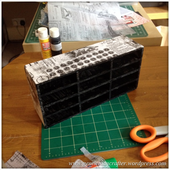 Monday Mash Up - DIY Tim Holtz Distress Inpad Storage - 6