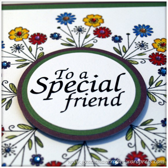 Monday Mash Up - To A Special Friend - 7