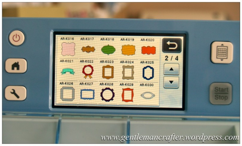 Scan It Saturday - Creating Decorative Sentiment Plaques With The Brother Scan N Cut - 38